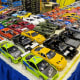 Model vehicles for sale at the auto show