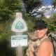 Luna at the Appalachian Trail
