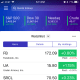 Open the Yahoo Finance app on your smart device. Tap the hamburger icon in the upper left corner of the screen.