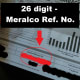 Your Meralco Reference Number can be found at the bottom of your bill.