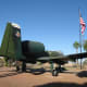 USAF A-10 Fighter on Display at Davis-Monthan AFB in Tucson, AZ