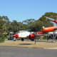 Displays at Woomera Missile Park.
