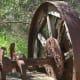我喜欢看到旧设备,想象它们在淘金热早期的完整生产过程。