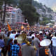 The main procession of Kullu Dussehra.