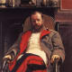 Portrait of Cesar Cui by Ilya Repin