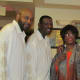 Dee Wright joined Jackie, in this photo with the Delfonics after their performance.