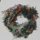 Mini Wreath Ornament with greenery