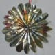 Fanned Paper Circle Christmas Ornament