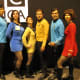 Star Trek makes a great neutral group costume idea.