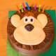 Lion cake.