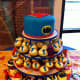 Superhero birthday cakes for kids.