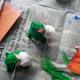 Set your bunnies aside to give the glue time to dry.