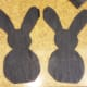 Cut out your bunny pieces.