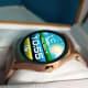 Wear24 smartwatch using aftermarket watch face.