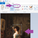 Drag your mouse over the area that you want to crop.  You should see a dotted line box form.  Then choose Crop from the menu.