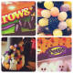 Seasonal Halloween candies I used for this holiday project.