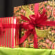 Bows that match wrapping paper
