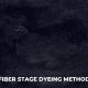 Fiber Stage Dyeing Method