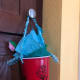 This is another angle of the plastic cup May basket.