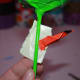Wrap the duct tape around the stem starting with the side the leaf is not on.