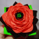 You can add your own petal leaves at the bottom of your rose if you'd like.  I added these to tie in the green in the center of my rose