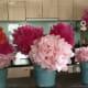Tissue Paper Flower Pots