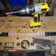 Drilling the dowel holes