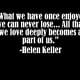 Helen Keller Quote