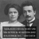This photo of Albert and his first wife, Mileva, was taken in 1912.