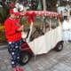 2019 Christmas golf cart parade at Solivita in Florida.