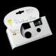 Disposable cameras as wedding photography option.