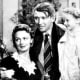 """George and Mary Bailey With Zuzu in """"It's a Wonderful Life"""""""