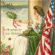 Antique Memorial Day Greeting Card