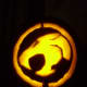 This Thundercats pumpkin was easy to carve and looked great in the end.