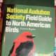 A bird identification book