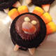 Oreo, mini peanut butter cup, candy corn turkey