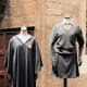 These are the official female costumes for Hufflepuff used in the movies.