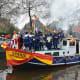 Sinterklaas parade in 2014 in Veghel, North Brabant, Netherlands