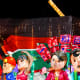 In recent years, many lantern dioramas incorporated strong patriotic or family themes.