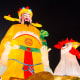 Huge festive lanterns are the main attractions of River Hongbao. This is the ever popular God of Money.