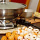 Hotpot, or steamboat, is a popular Northern China dish because of the cold weather there. While Singapore's climate is far from chilly, many families still have steamboat for their Reunion Dinners.