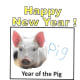 """Here is another idea you can use with the template above. Children cut out a picture of a pig from a magazine (or find one on the internet), then write the word """"pig"""" next to it."""