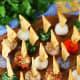 Miniature ornament cheese balls