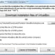 Selected options in Portable-VirtualBox.