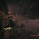 A World Drop item found spawned beside a damaged stairway in a different ruined building.