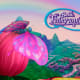 Fairytopia title screen, showing the magical landscape.