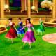 Twelve princesses dance ballet in the Secret Garden of Wishes.