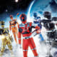 One for each color of the rainbow, Uchuu Sentai Kyuranger are a group of freedom fighters seeking to liberate the universe from Jark Matter. Think Empire Strikes Back meet Power Rangers