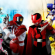 Lupinranger Vs Patranger are two opposing teams, the Lupinrangers seeking the Lupin Collection, and the Patrangers seeking to uphold the law. Also, a Mafia-esque villain group seeking to take over Earth through the powers of the collection