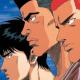 Shohoku's big three.